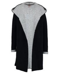 dunkelblauer Pullover mit einer Kapuze von Anna Field