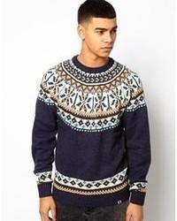 Pullover mit rundhalsausschnitt medium 62536
