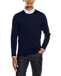 dunkelblauer Pullover von Calvin Klein