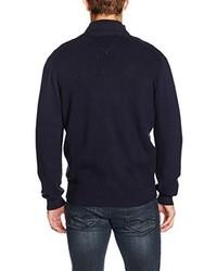 dunkelblauer Pullover von Casamoda