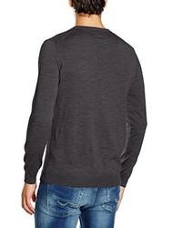 dunkelblauer Pullover von Cortefiel