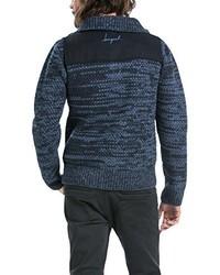 dunkelblauer Pullover von Desigual