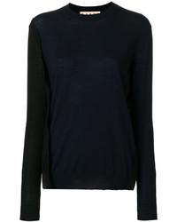 dunkelblauer Pullover von Marni