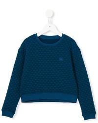 dunkelblauer Pullover von No Added Sugar