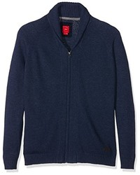 dunkelblauer Pullover von S.Oliver Big Size