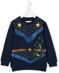 dunkelblauer Pullover von Stella McCartney