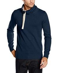dunkelblauer Pullover von Tom Tailor