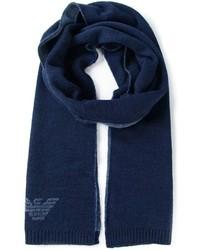 dunkelblauer Schal von Armani Jeans