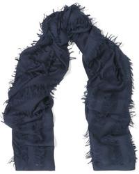 dunkelblauer Schal von Chloé