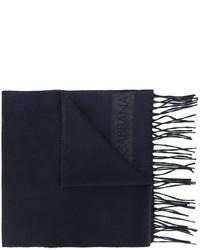 dunkelblauer Schal von Dolce & Gabbana