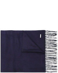dunkelblauer Schal von DSQUARED2