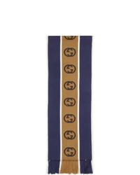 dunkelblauer Schal von Gucci