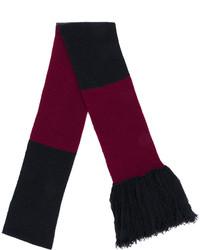 dunkelblauer Schal von Lanvin