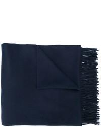 dunkelblauer Schal von Max Mara
