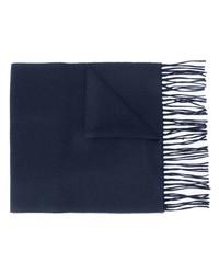 dunkelblauer Schal von Moschino