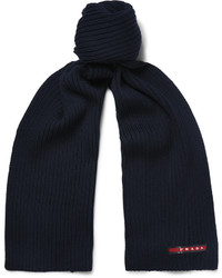 dunkelblauer Schal von Prada