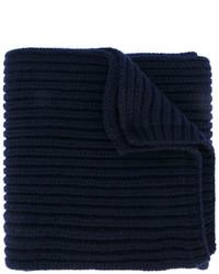 dunkelblauer Schal von Salvatore Ferragamo