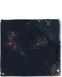 dunkelblauer Schal von Valentino