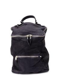 dunkelblauer Segeltuch Rucksack von Giorgio Brato