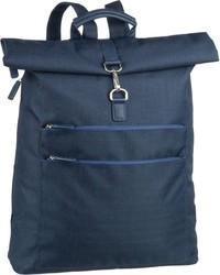 dunkelblauer Segeltuch Rucksack von Jost