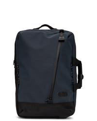 dunkelblauer Segeltuch Rucksack von Master-piece Co