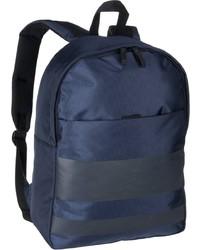 dunkelblauer Segeltuch Rucksack von Strellson