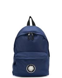 dunkelblauer Segeltuch Rucksack von Versus