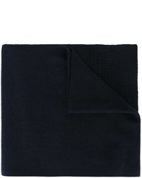 dunkelblauer Strick Wollschal von Dolce & Gabbana