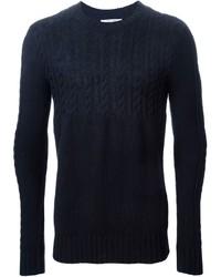 dunkelblauer Strickpullover von Carven