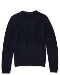 dunkelblauer Strickpullover von Gucci