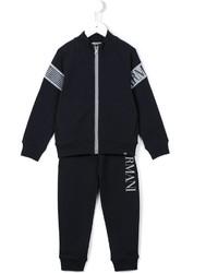 dunkelblauer Trainingsanzug von Armani Junior