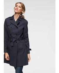dunkelblauer Trenchcoat von Aniston CASUAL