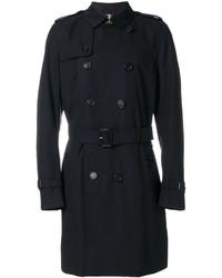 dunkelblauer Trenchcoat von Burberry