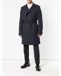 dunkelblauer Trenchcoat von Dolce & Gabbana