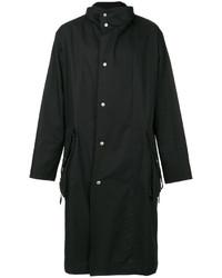 dunkelblauer Trenchcoat von Maison Margiela