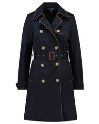 dunkelblauer Trenchcoat von Ralph Lauren