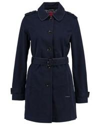 dunkelblauer Trenchcoat von s.Oliver