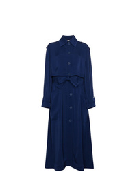 dunkelblauer Trenchcoat von Stella McCartney