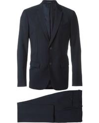 dunkelblauer Wollanzug von Jil Sander