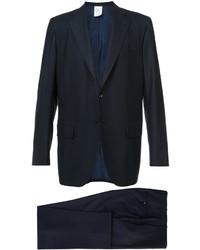 dunkelblauer Wollanzug von Kiton
