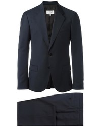 dunkelblauer Wollanzug von Maison Margiela