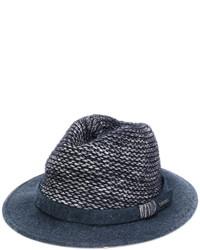 dunkelblauer Wollhut von Woolrich