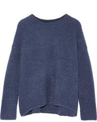 dunkelblauer Wollpullover von Vince