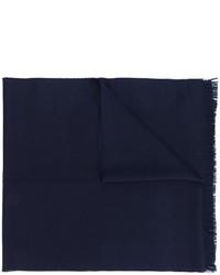 dunkelblauer Wollschal von Emporio Armani