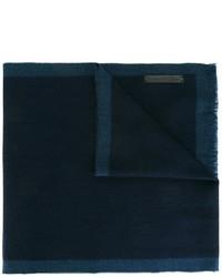 dunkelblauer Wollschal von Ermenegildo Zegna