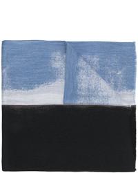 dunkelblauer Wollschal von Jil Sander