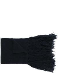 dunkelblauer Wollschal von Lanvin