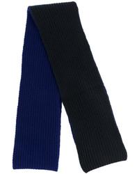 dunkelblauer Wollschal von Marni