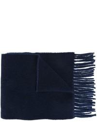 dunkelblauer Wollschal von Polo Ralph Lauren