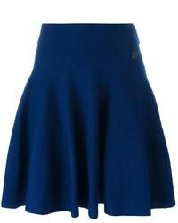 dunkelblauer Wollskaterrock von Kenzo